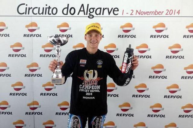 Fabio Quartararo, futura estrella del motociclismo