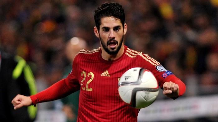 Isco lideró a la selección española ante Bielorrusia