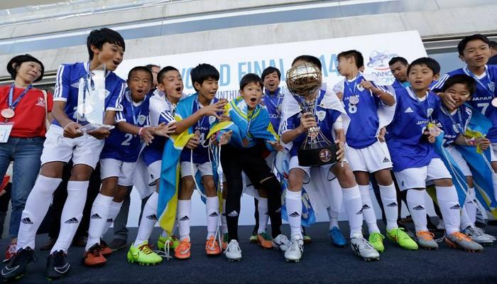 Japón en la Danone Nations Cup
