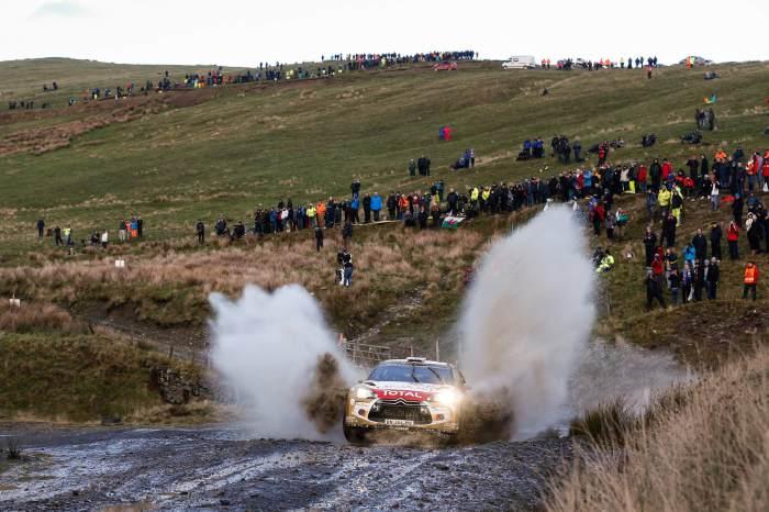 Kris Meeke en Gales
