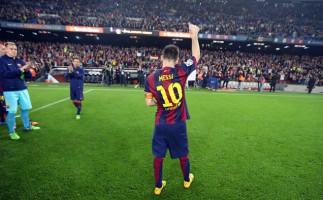Messi se convierte en el máximo goleador de la historia de la Liga Española