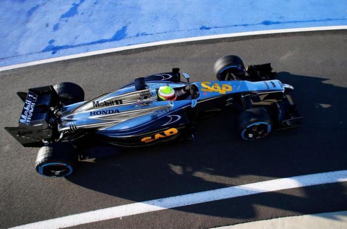 McLaren Honda en Silverstone