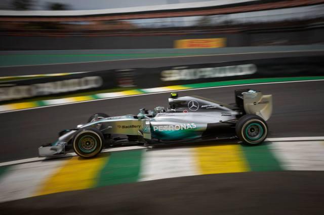 Mercedes en Interlagos
