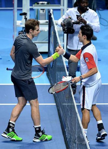Nishikori derrota a Murray en Londres