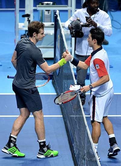 ATP Finals Londres 2014: Nishikori bate a Murray, López y Granollers ganan en dobles