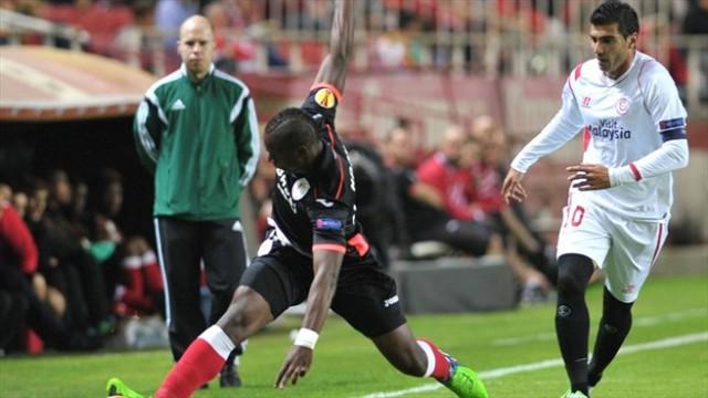 Reyes fue uno de los más destacados del Sevilla ante el Standard