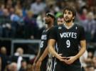 NBA: Ricky Rubio, baja indefinida por una lesión de tobillo