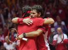 Final Copa Davis 2014: Monfils ganó a Federer pero Suiza gana el doble a Francia y queda a un paso del título