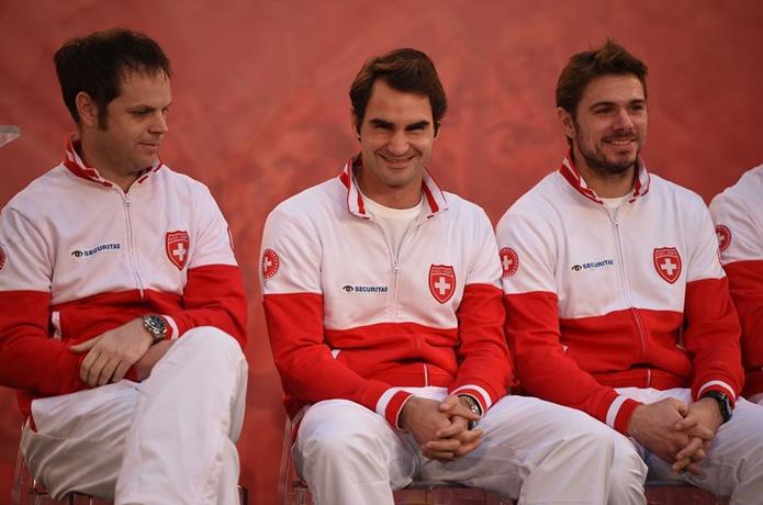 Roger Federer y Stan Wawrinka