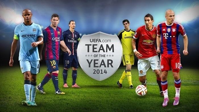 Ya se puede votar el Once Ideal de 2014 de UEFA.com