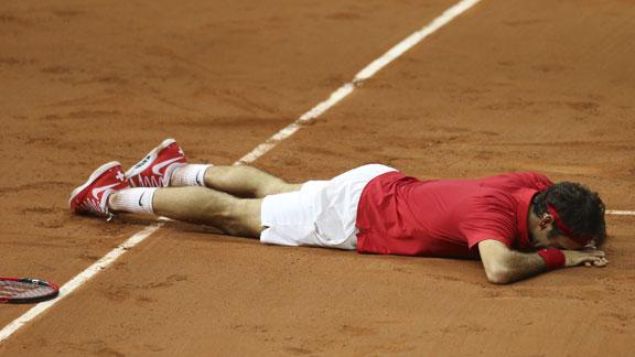 Final Copa Davis 2014: Federer le da a Suiza el primer título de su historia