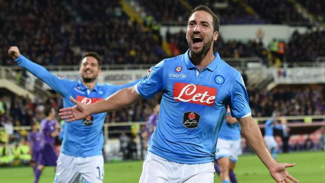 El Nápoles se sitúa tercero en la Serie A