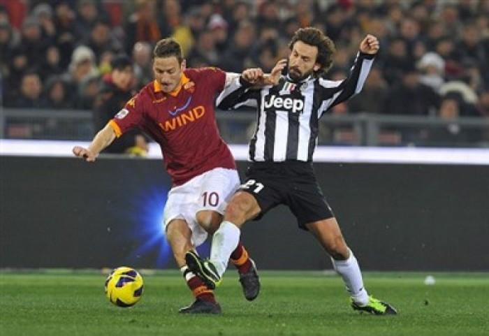Juventus y Roma, los dos candidatos al título