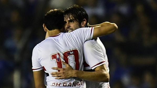 Copa Sudamericana 2014: Kaká y el Sao Paulo a semifinales
