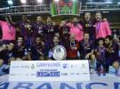 El Barcelona ganó en León la Copa ASOBAL 2014, la cuarta consecutiva