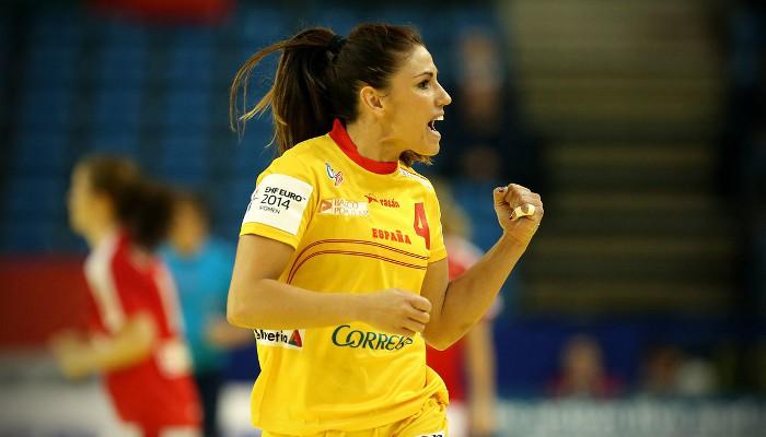 Europeo balonmano femenino 2014: Carmen Martín elegida en el equipo ideal