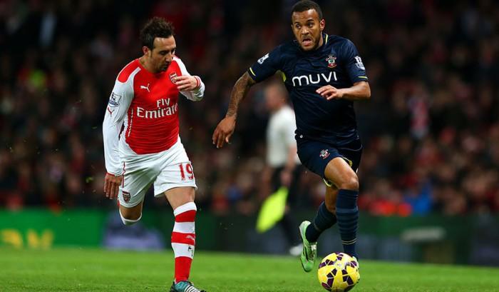Cazorla con el Arsenal