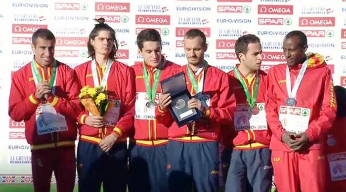 España volvió a ganar medallas en el Europeo de cross