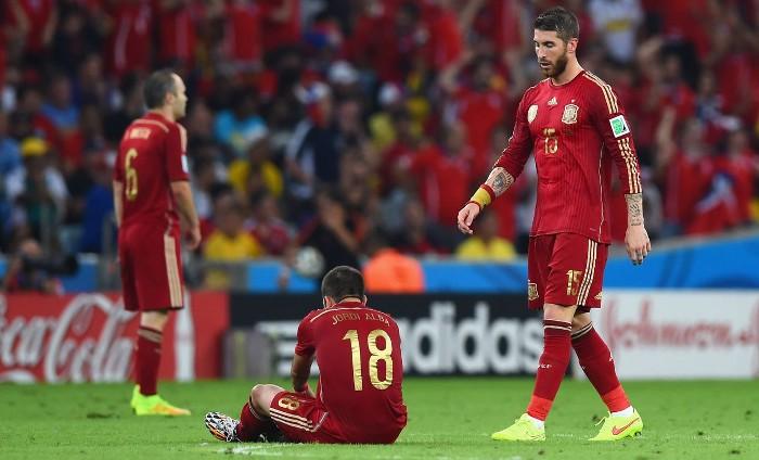 España fracasó en el Mundial de Brasil