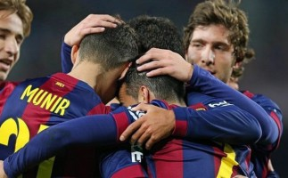 Copa del Rey 2014-2015: Barcelona, Celta, Valencia y Almería siguen adelante
