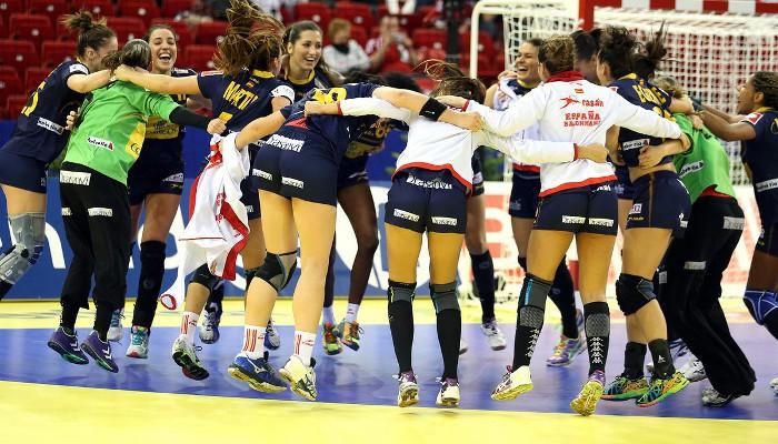 Las Guerreras ya están en la final en el Europeo de balonmano 2014