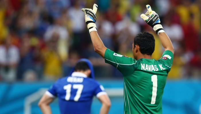 Keylor Navas fue la estrella de Costa Rica en el Mundial