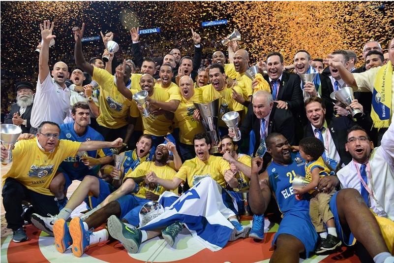 Maccabi campeón Euroliga 2014