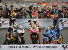 Resumen 2014 Motos: Marc y Alex Márquez, Rabat, Marc Coma, Toni Bou o Laia Sanz protagonistas del año