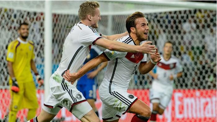 El gol de Gotze dio la victoria a Alemania en el Mundial
