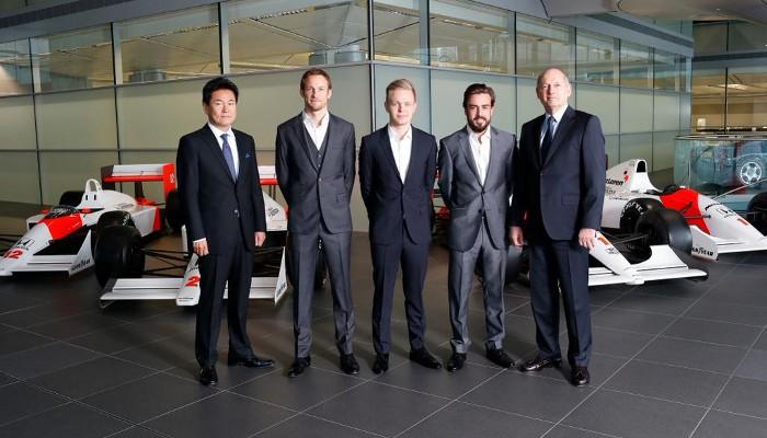 El nuevo equipo McLaren Honda, con Fernando Alonso al frente