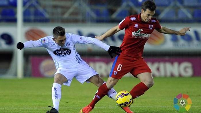 Numancia y Lugo empataron a 6 en el partido más raro de la jornada