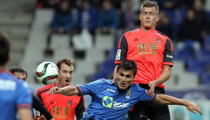 Oviedo y Real Sociedad empataron sin goles