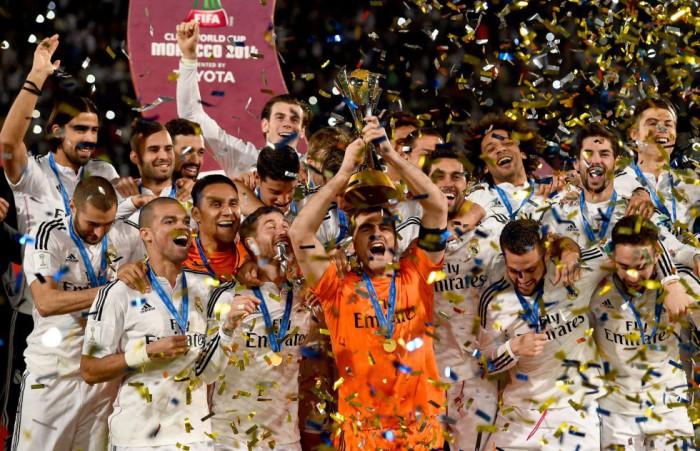 Mundial de Clubes 2014: el Real Madrid campeón ganando a San Lorenzo