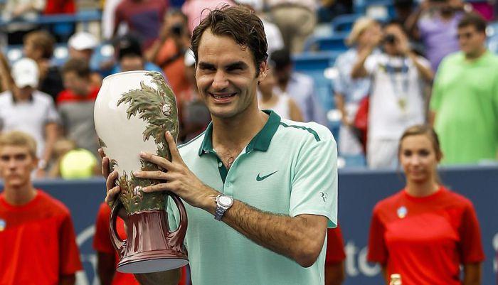 Roger Federer en Cincinnati