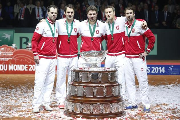 Suiza gano la Copa Davis