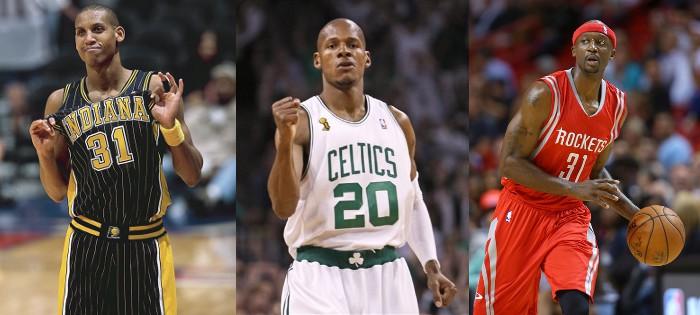 Miller, Allen y Terry son los que más triples han metido en la historia de la NBA