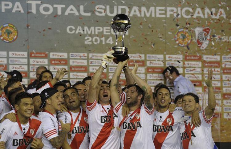 River campeón Copa Sudamericana