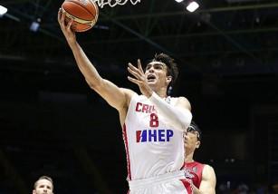 Saric, el mejor jugador joven de Europa durante 2014