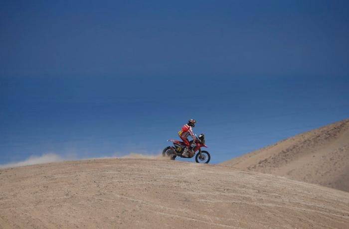 Honda en el Dakar