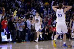 NBA: la noche mágica de Klay Thompson, 37 puntos en un solo cuarto