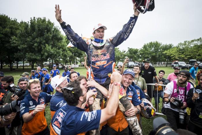 Marc Coma gano el Dakar 2015