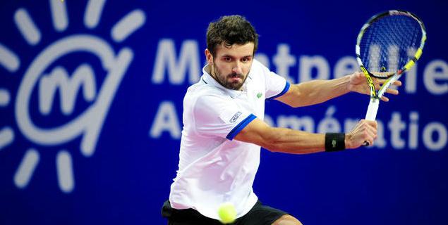 ATP Montpellier 2015: Cinco franceses a 2da ronda; ATP Zagreb 2015: Favoritos avanzan con problemas