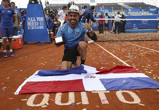 ATP Quito 2015: Estrella Burgos vence a López y es el campeón