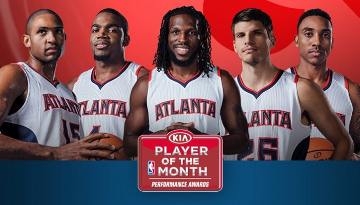 Quinteto titular de los Hawks