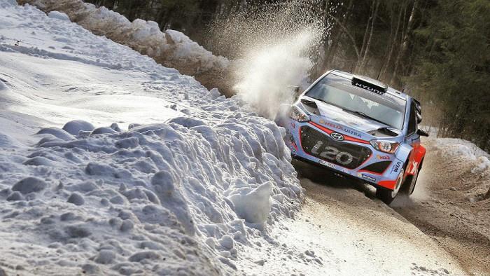 Hyundai en el Rally de Suecia