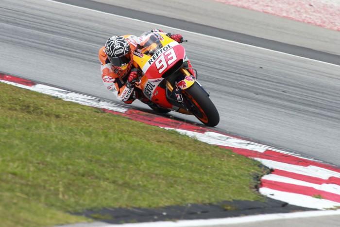 Marc Márquez, Jorge Lorenzo y Dani Pedrosa empiezan fuerte la pretemporada de MotoGP en Sepang