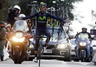 Valverde, Movistar y España, al frente del ranking UCI de 2015