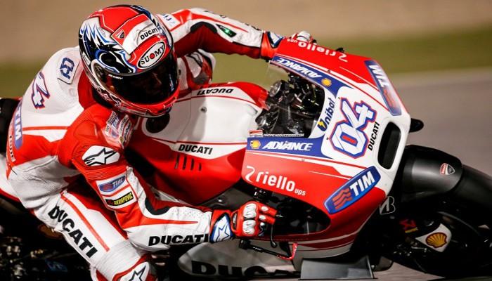 Ducati manda en los últimos test de pretemporada MotoGP de 2015
