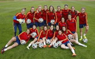 La sub 17 femenina también se clasifica para el Europeo 2015