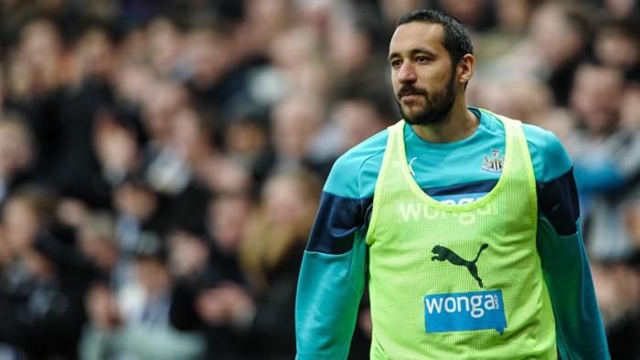 El emotivo regreso de Jonás Gutiérrez con el Newcastle